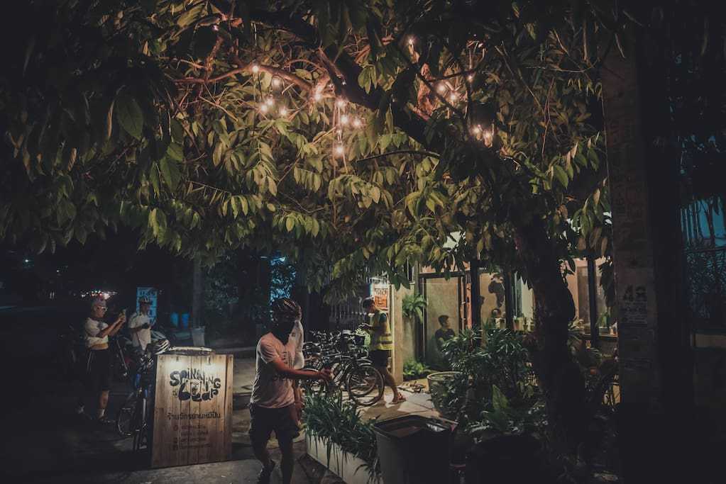 Spinning Bear Hostel - The bicycle hostel for cyclists in Bangkok, Thailand