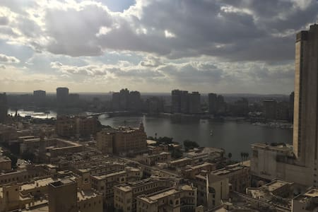 Stunning Garden City Apartment Nile and City views
