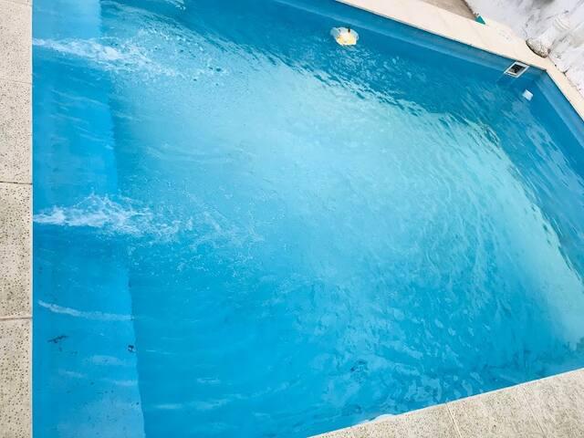 Casa céntrica con piscina