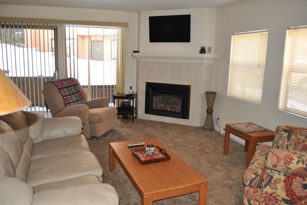 Family Style living w/ fireplace