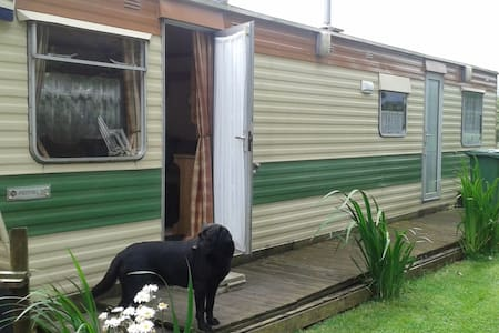Cosy Mobile home at rear of property - Mulbarton