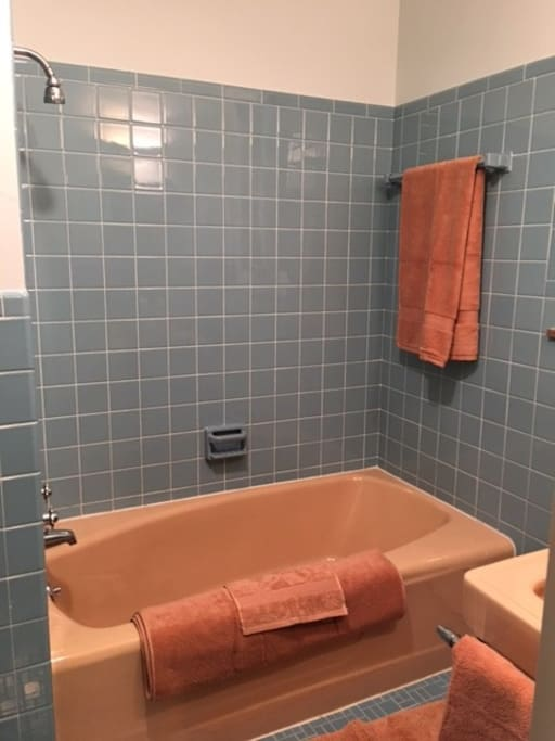 Full private bath with shower