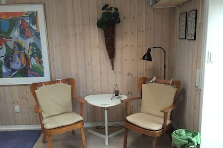Hyggelig lejlighed ved Jels sø med udsigt