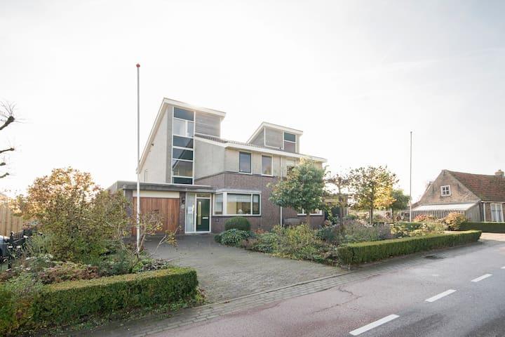 Rust op steenworp vanaf Schiphol! - Kudelstaart - Bed & Breakfast