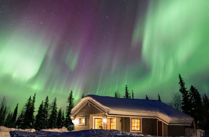 Perfect for seeing northern lights! - Muonio - Huis
