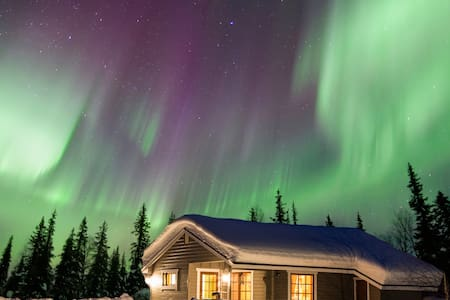 Perfect for seeing northern lights! - Muonio - Casa