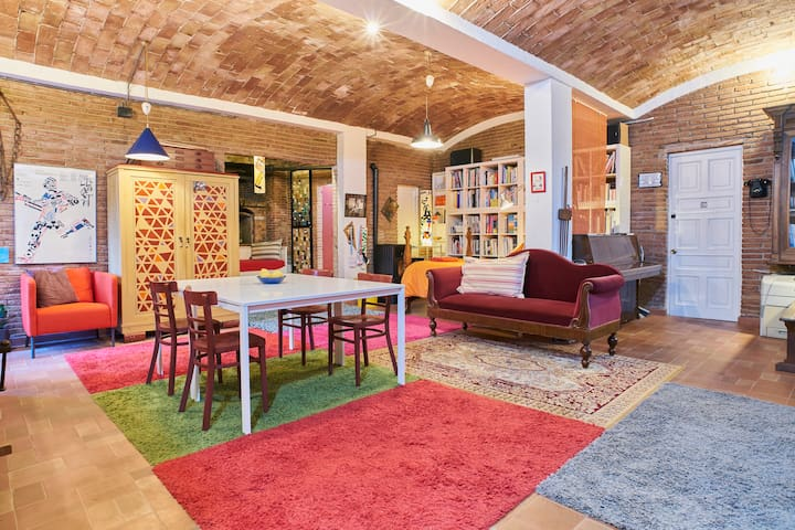 Loft Art Studio in center Sant Cugat - Barcelona
