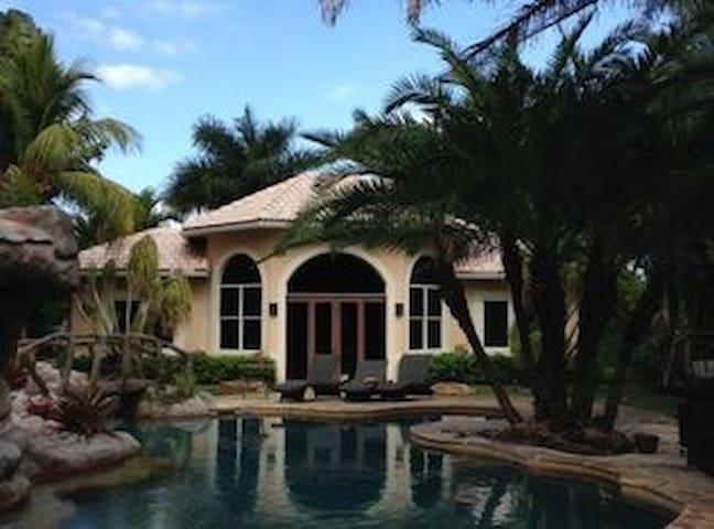 A west Ft. Lauderdale hideaway - Davie - Rumah