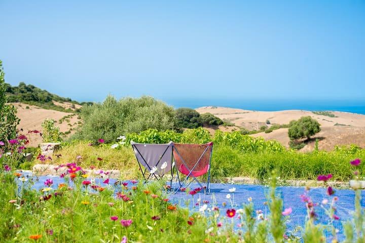 VILLAS vue MER, Piscine, 12 chambres, 24 personnes - Préfecture de Tanger-Assilah - Haus
