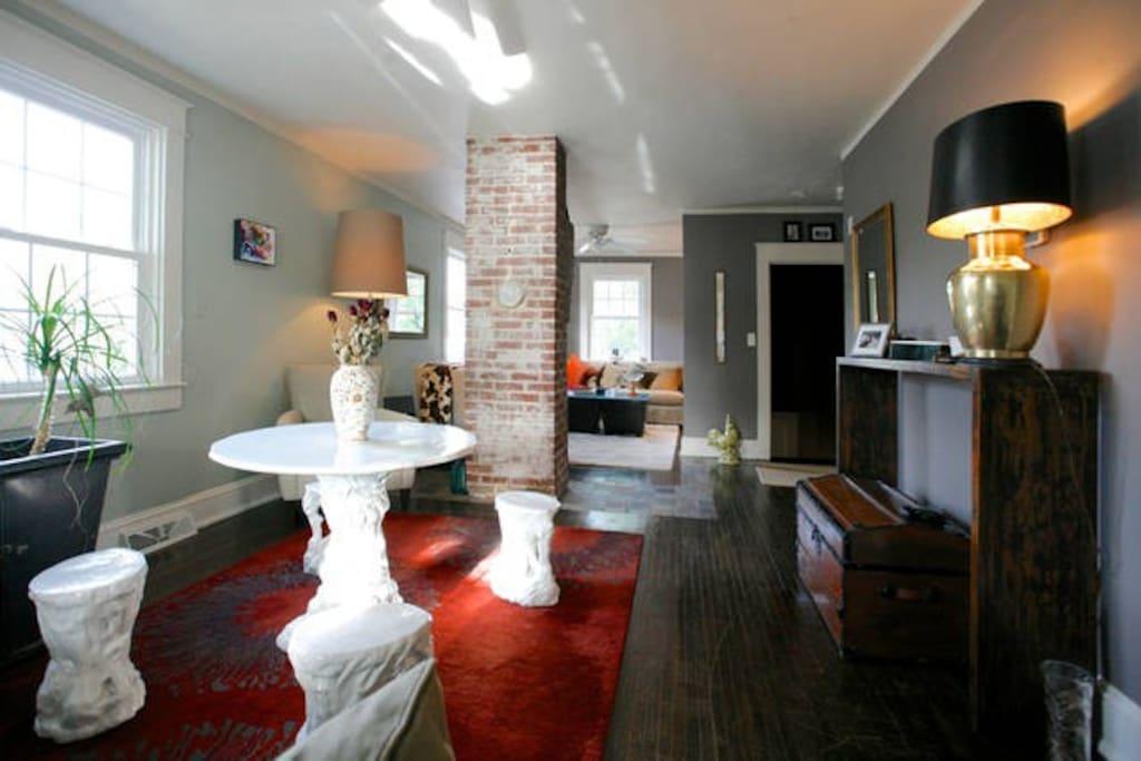 Private appartment in charlottesville belmont for Affitto cabina charlottesville va