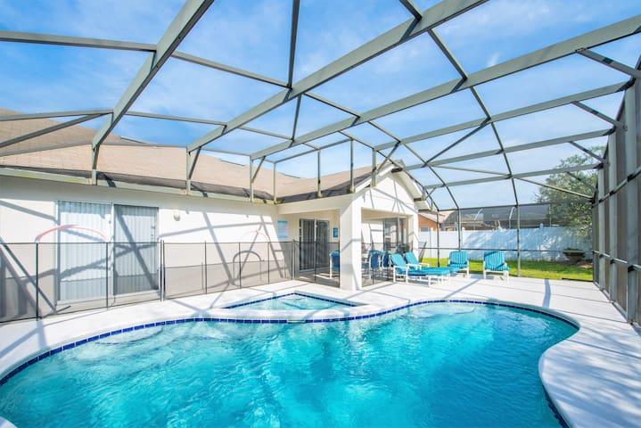 Cozy Family Villa - South Facing Pool - Private