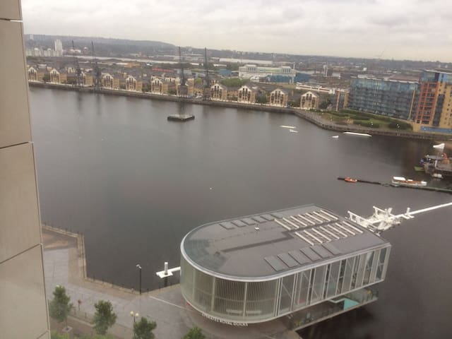 EXCEL Wharf Apartment Royal Victoria Docks - Londres - Pis