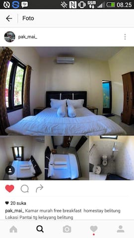 "Homestaybelitung "" pak maie "" - Kabupaten Belitung - Dom"
