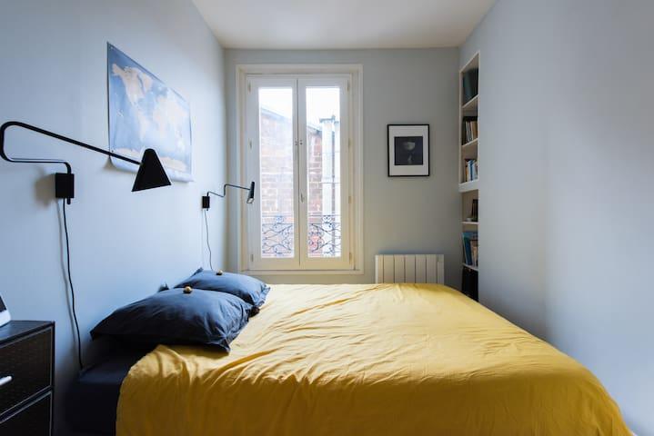 Cosy 2 Bedr. apartment in Paris 11e - Paris - Apartamento