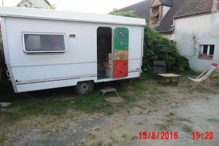 Caravane ambiance baba cool - Saint-Gondon