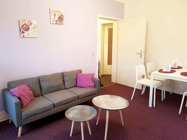 3-Raum-Apartment für 4 Personen