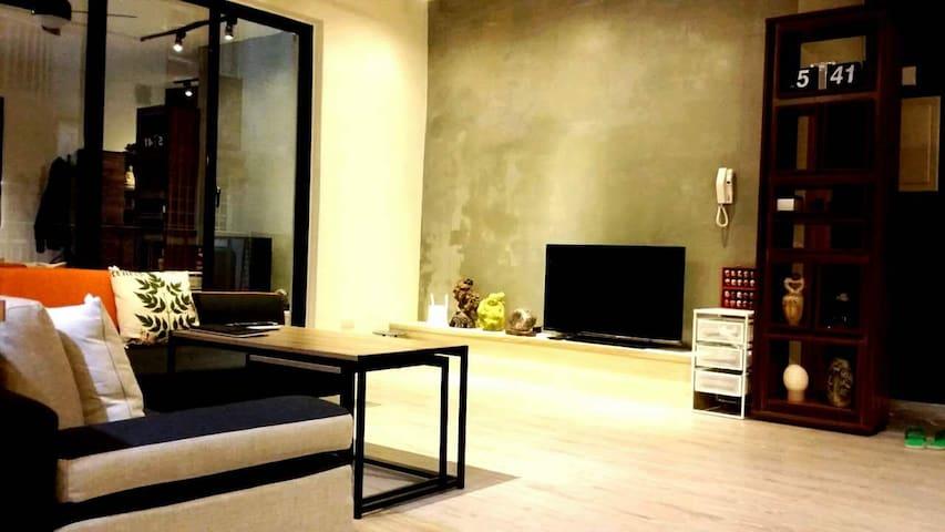 *Budget*AirportㄥNightMarketㄥOutlet - 中壢區 - Wohnung