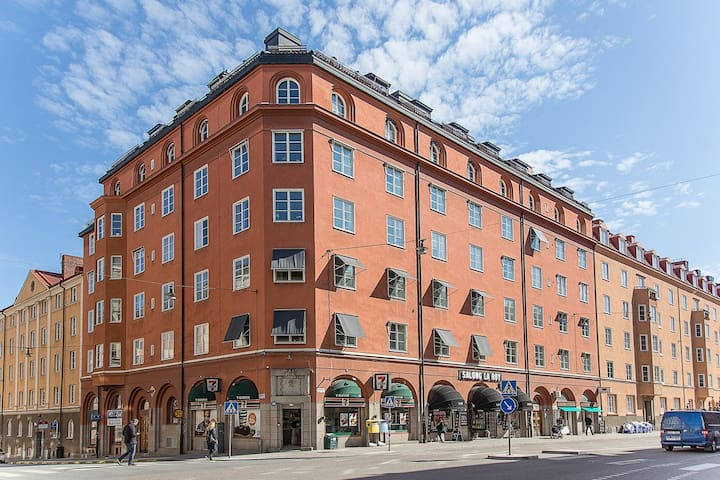 Apartment in the heart of the city with jacuzzi - Stockholm - Apartment