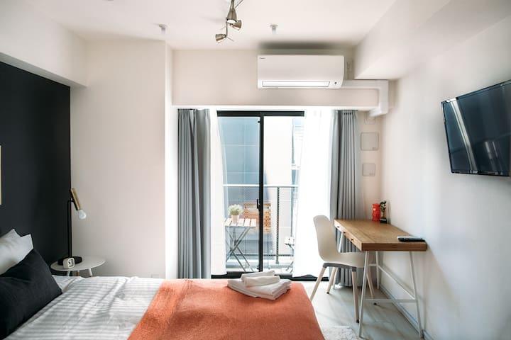Relaxing & Cozy Studio- Ningyocho/Nihonbashi