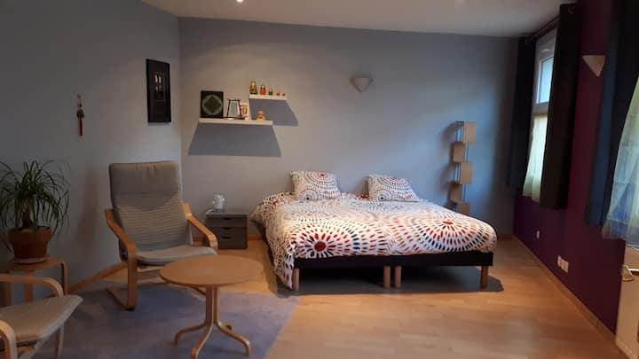 Grande chambre proche de Caen