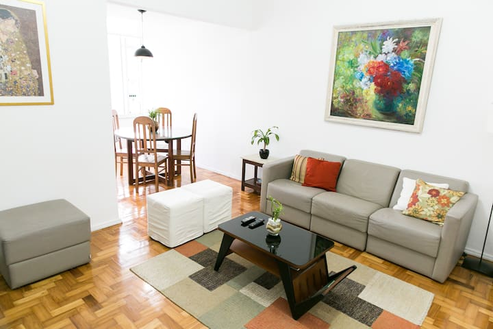 3 rooms apartment in Ipanema nearby subway station - Rio de Janeiro - Apartment