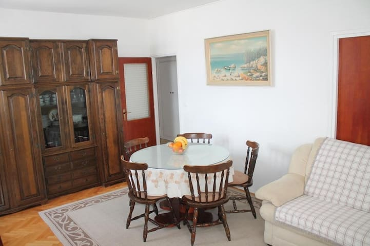 Apartment Iris (ST) - Two Bedroom Apartment with Balcony and Sea View