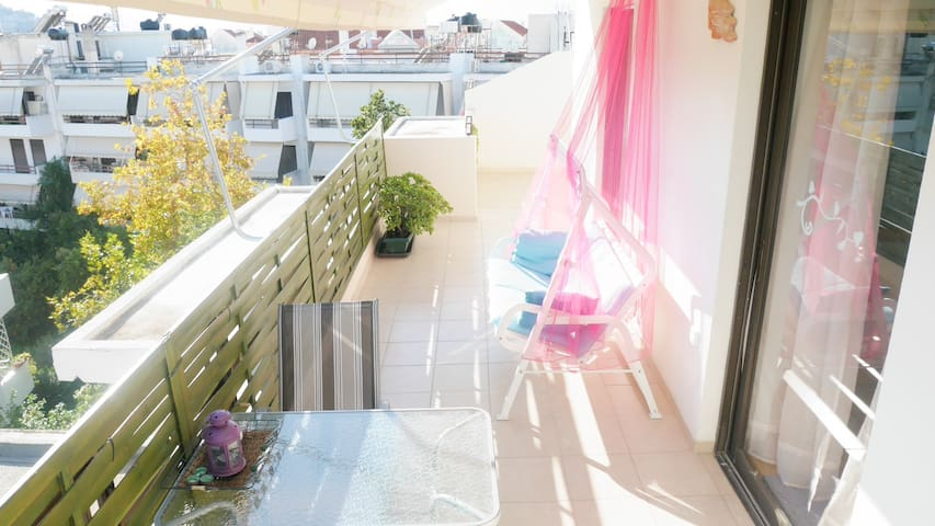 Cozy Apartment in Nafplio with a view of Palamidi