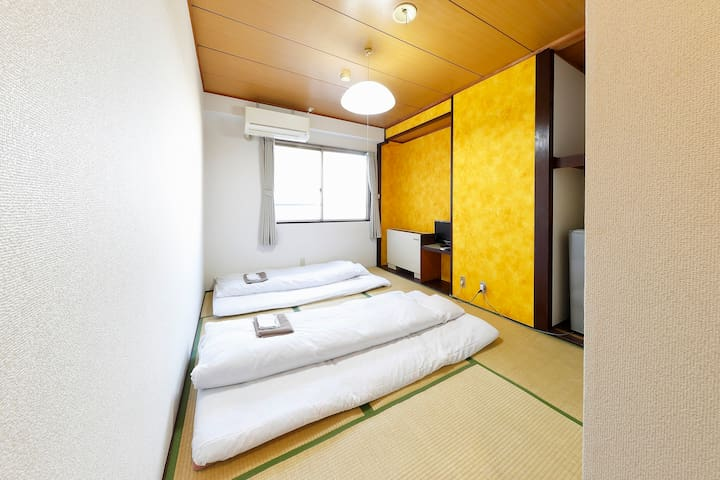 HOTEL TAIYO Osaka Private Japanese style twin room