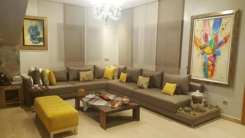villa pour location a dar bouazza