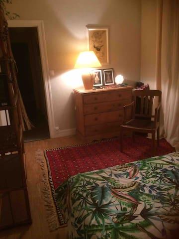 La même chambre, vue d'un angle différent