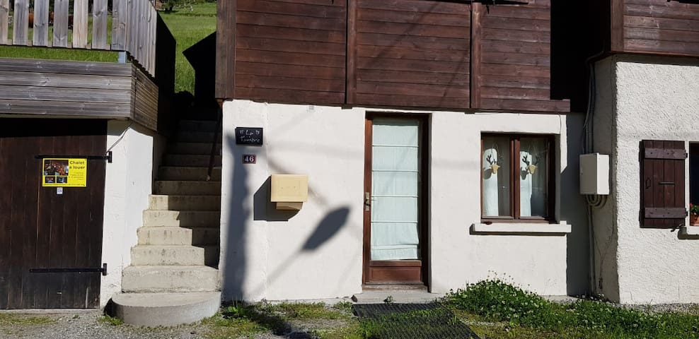 Cozy one bed apartment in Vallorcine