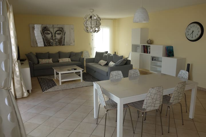 Modern house with pool walking distance to the sea - Bretignolles-sur-Mer - Vila