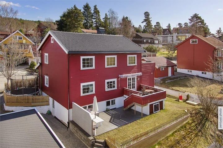 Beautiful house 20 min from Oslo