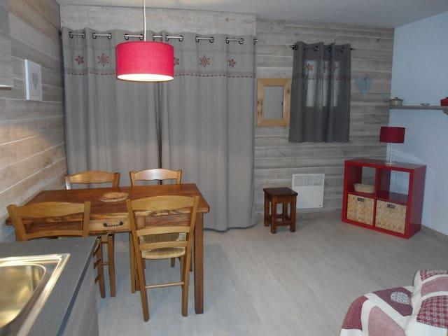 STUDIO 2/4 PERS AU PIED DES PISTES - Crest-Voland - บ้าน