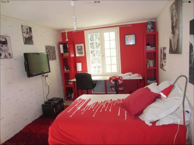 Une chambre dans villa piscine - Peynier - Hus