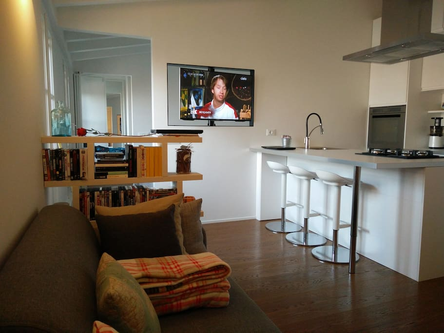 Home overview / Visione ampia dal divano