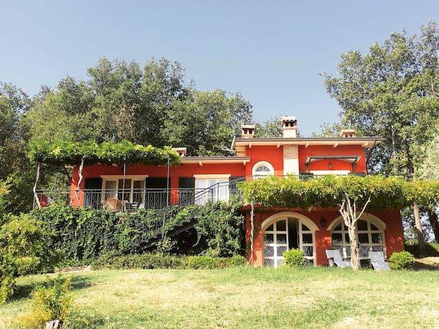 Villa di charme Calvignano Pavia - Montalto Pavese - Villa
