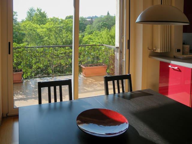 casa vista parco - Bergamo - Lägenhet