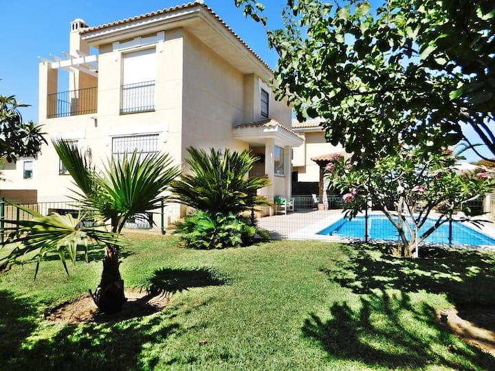 Casa Maribel 🌞 SUN + PRIVATE POOL + VIEWS 🥤