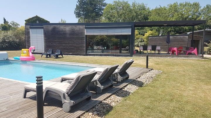Maison à la campagne, proche Cahors.
