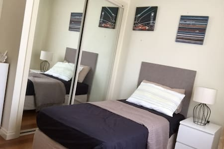 comfy unite single bedroom - Mount Waverley - Casa de camp