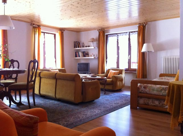 Gressoney Valley, Gaby - Apartment for 5 people - Gaby - Apartemen