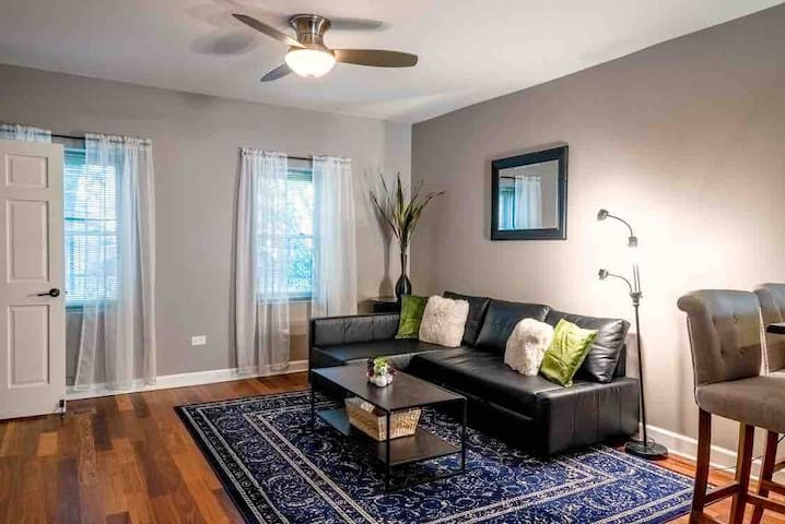 Modern and cozy 2 bdrm apt near Downtown Chicago