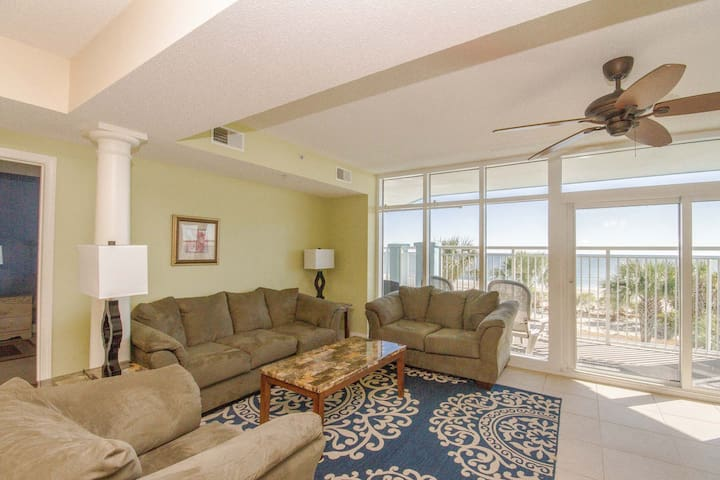 Ocean Blue Resort 203, 5bd 4bth Ocean Front in MB