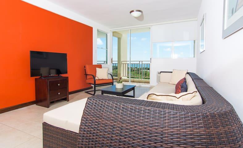 Ocean Front! 2 bedroom 2 bath! Caribbean Sea! - Cabo Rojo - Apto. en complejo residencial