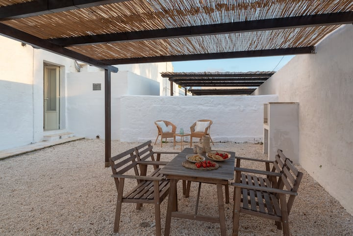 Sand Apartment in Masseria with pool