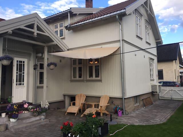Downtown Porsgrunn for 2 people