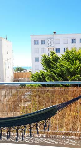 Bel appartement 50 mètres plage