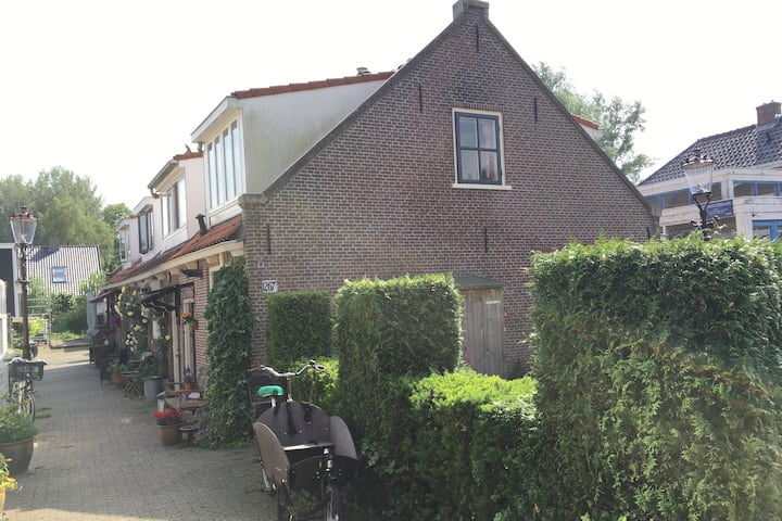 Cottage in Medieval village within Amsterdam city!