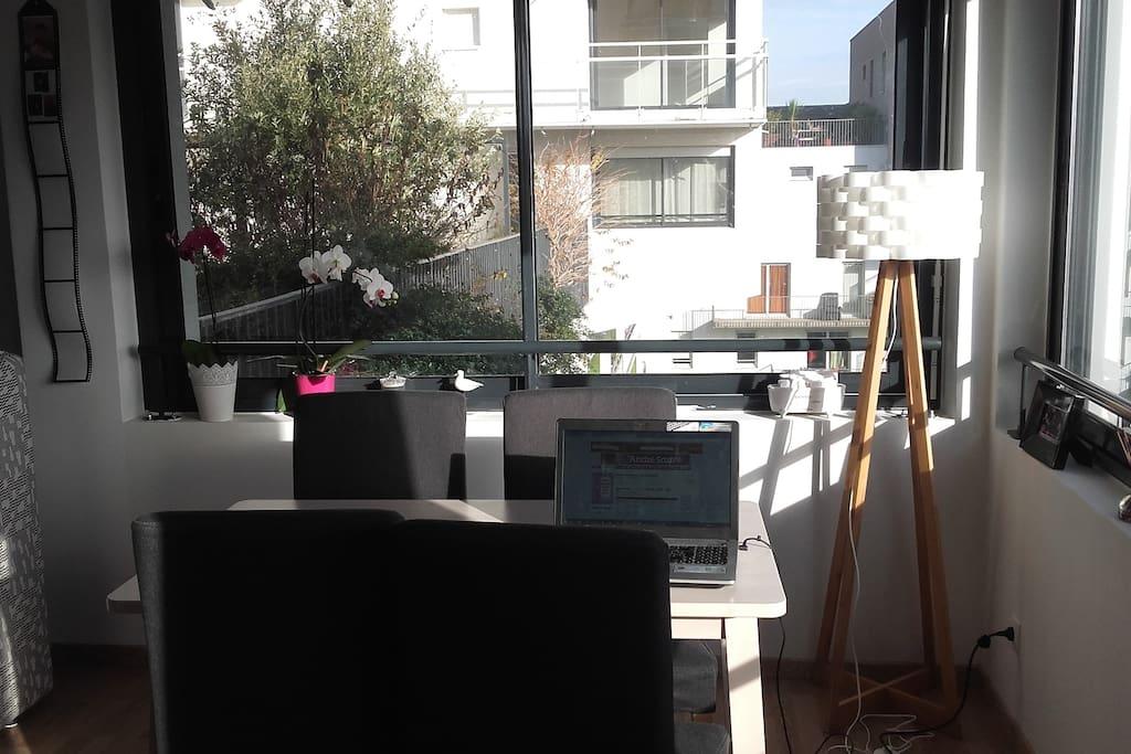 Espace salon/salle à manger